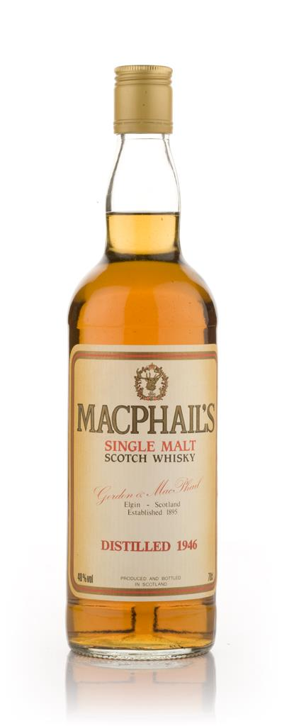 MacPhails 1946 75cl Single Malt Whisky
