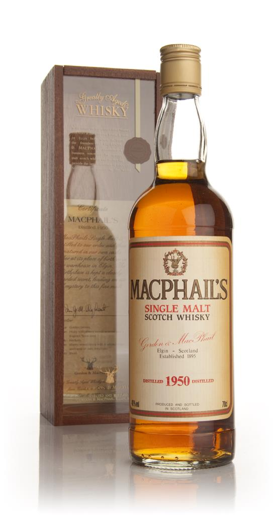 MacPhails 1950 Single Malt Whisky