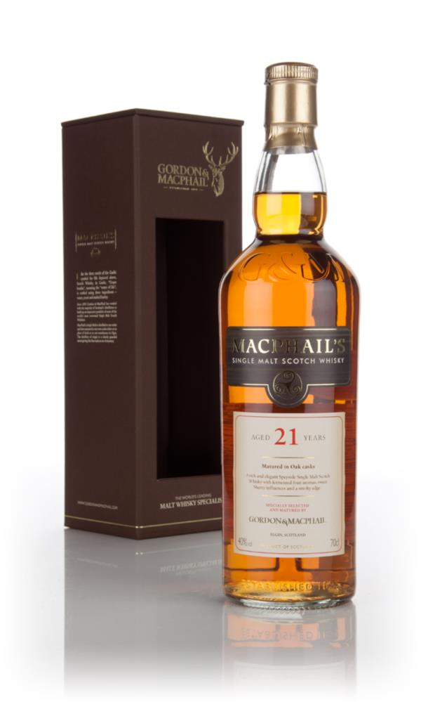 MacPhails 21 Year Old Single Malt Whisky