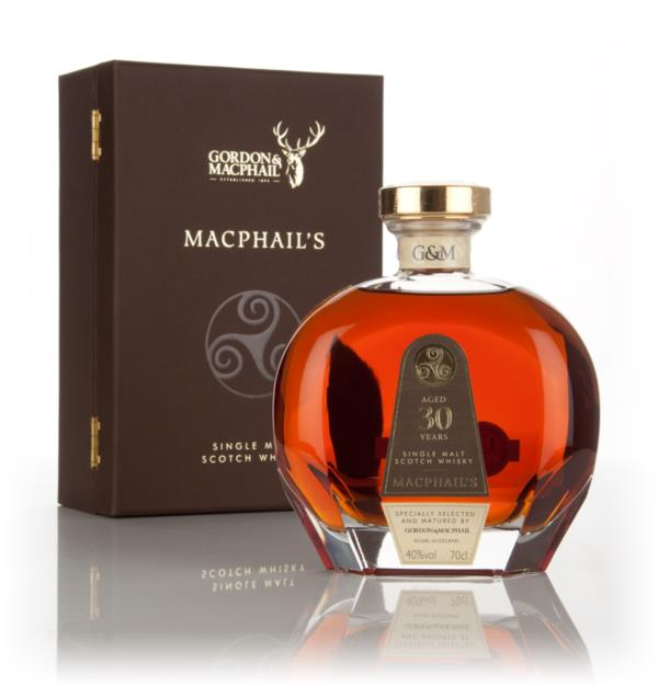 MacPhails 30 Year Old Puccini Decanter Single Malt Whisky