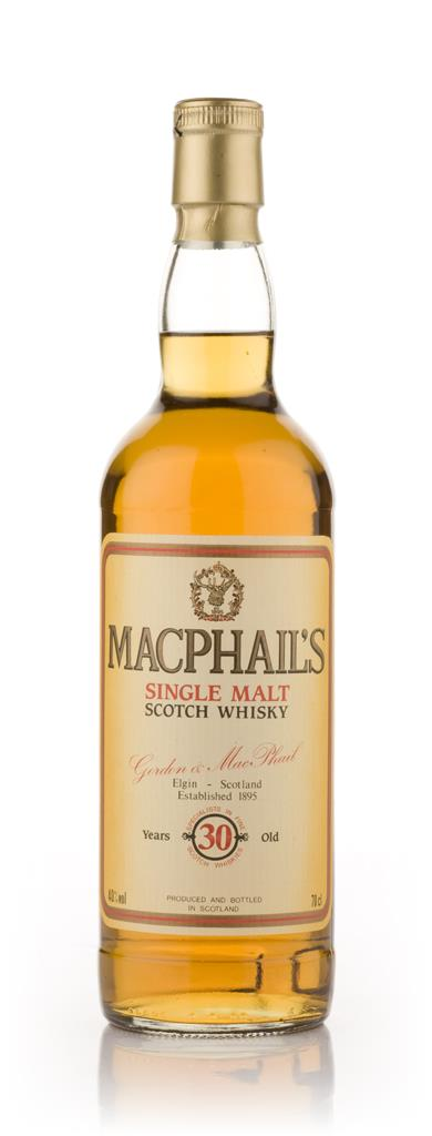 MacPhails 30 Year Old Single Malt Whisky