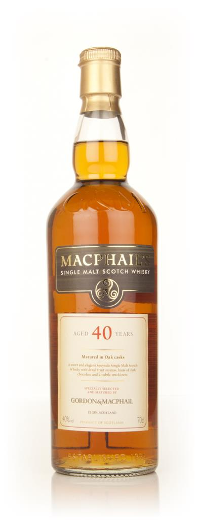 MacPhails 40 Year Old Single Malt Whisky