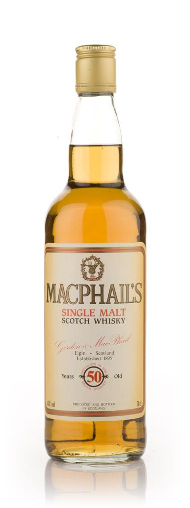 MacPhails 50 Year Old Single Malt Whisky