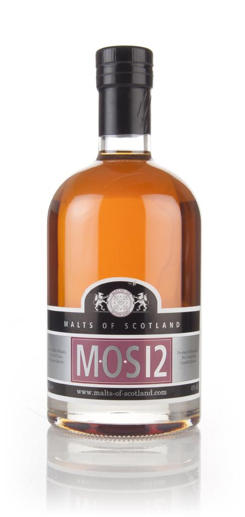 MOS 12 Year Old (Malts of Scotland) 3cl Sample Blended Whisky
