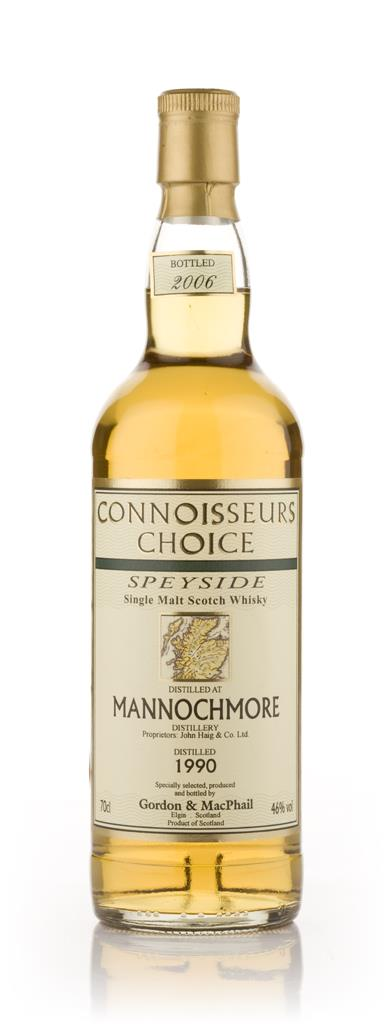 Mannochmore 1990 - Connoisseurs Choice (Gordon and MacPhail) Single Malt Whisky