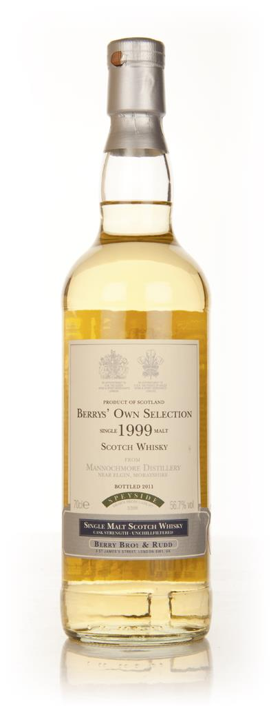 Mannochmore 1999 (Berry Brothers and Rudd) Single Malt Whisky
