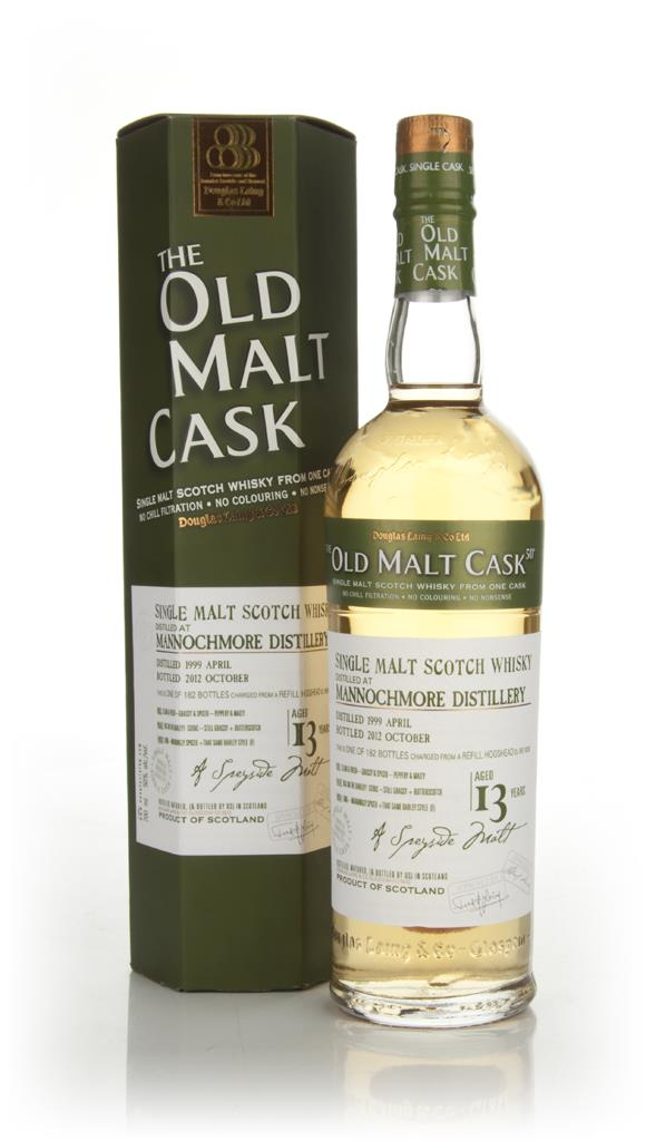 Mannochmore 13 Year Old 1999 - The Old Malt Cask (Douglas Laing) Single Malt Whisky