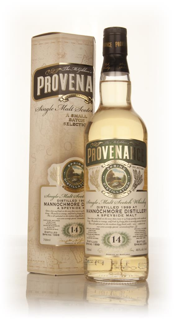 Mannochmore 14 Year Old 1999 (cask 9766) - Provenance (Douglas Laing) Single Malt Whisky