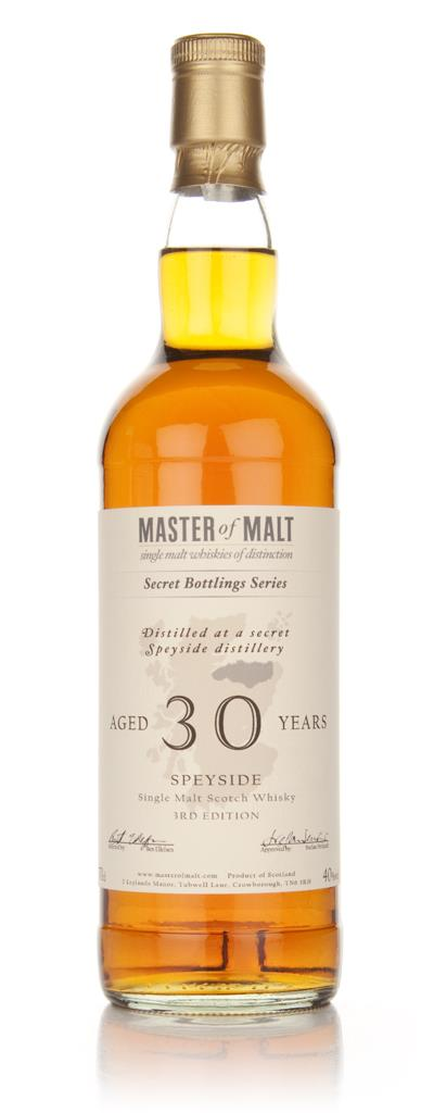 Master of Malt 30 Year Old Speyside (3rd Edition) Single Malt Whisky