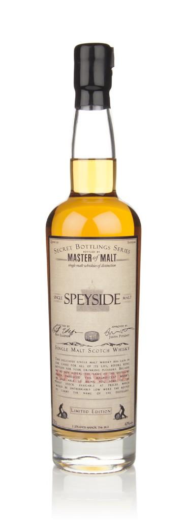 Master of Malt Speyside Single Malt Single Malt Whisky