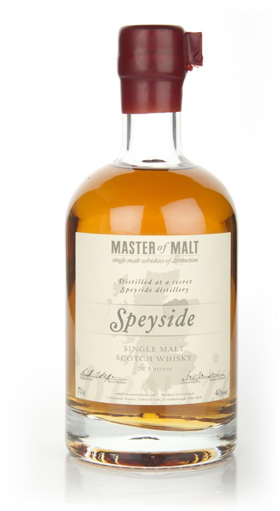 Master of Malt Speyside Single Malt 2nd Edition Single Malt Whisky