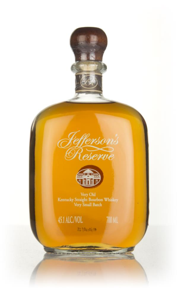 Jeffersons Reserve Bourbon Whiskey
