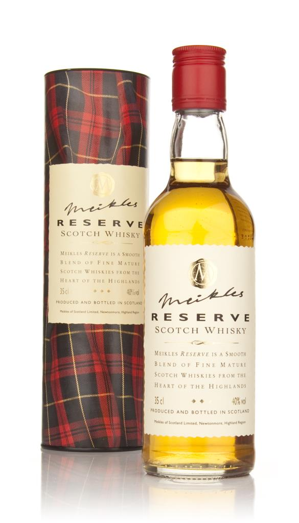 Meikles Reserve Scotch Whisky 35cl Blended Whisky