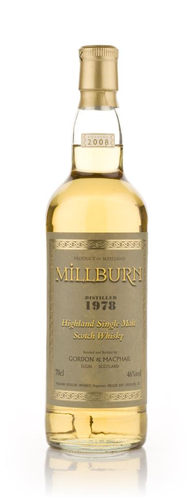 Millburn 1978 (Gordon and MacPhail) Single Malt Whisky