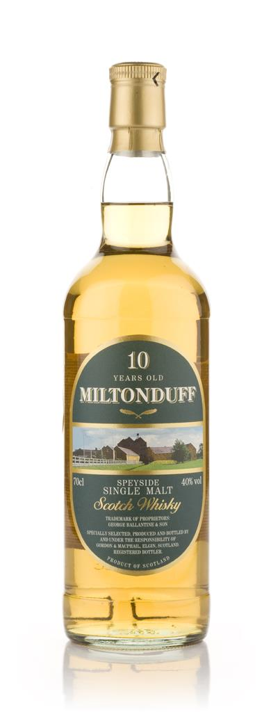 Miltonduff 10 Year Old (Gordon and MacPhail) Single Malt Whisky