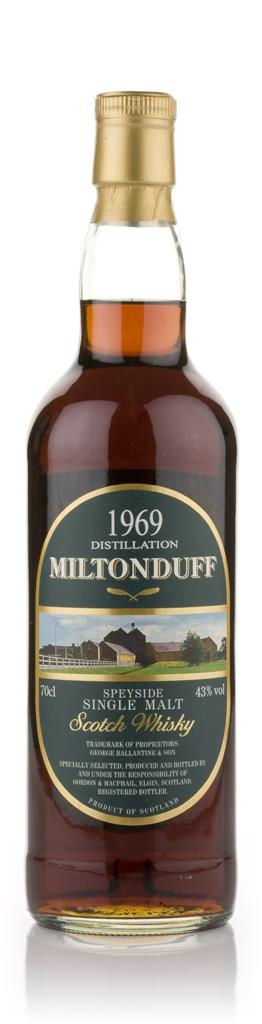 Miltonduff 1969 (Gordon and MacPhail) Single Malt Whisky