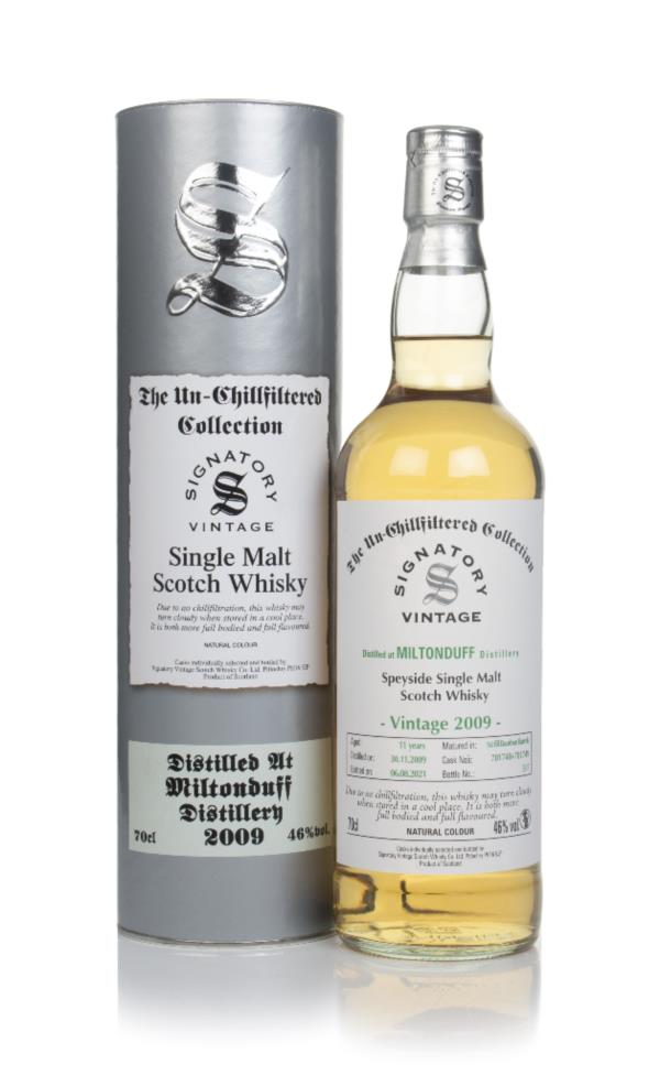 Miltonduff 11 Year Old 2009 (casks 701748 & 701749) - Un-Chillfiltered Single Malt Whisky