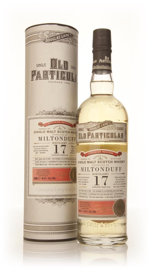 Miltonduff 17 Year Old 1996 (cask 9904) - Old Particular (Douglas Lain Single Malt Whisky