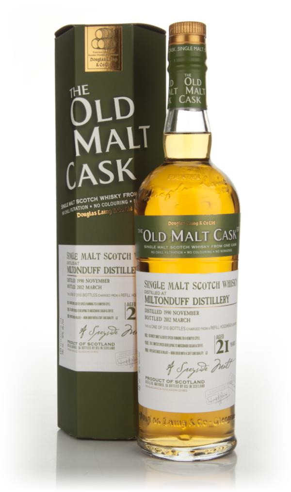 Miltonduff 21 Year Old 1990 Cask 8261 - Old Malt Cask (Douglas Laing) Single Malt Whisky