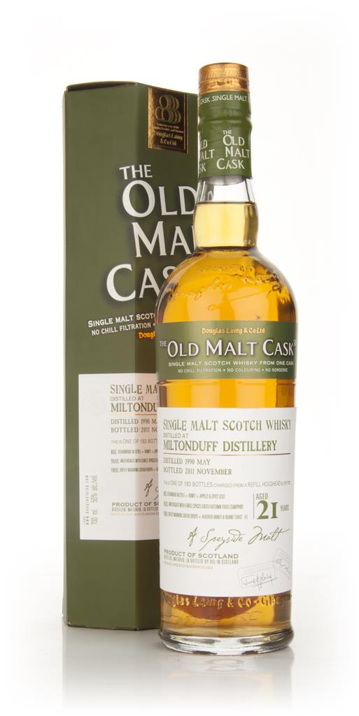 Miltonduff 21 Year Old 1990 - Old Malt Cask (Douglas Laing) Single Malt Whisky