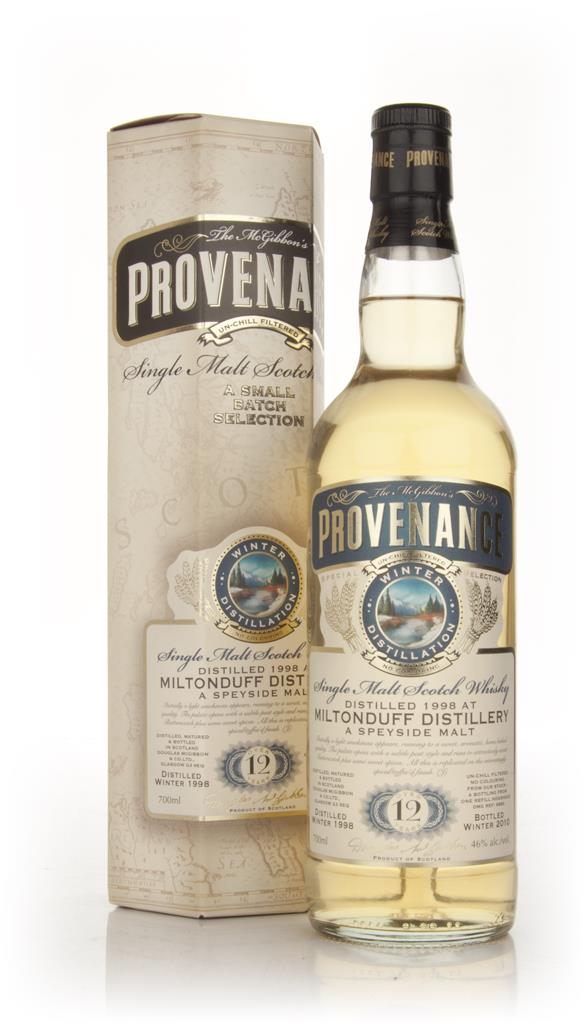 Miltonduff 12 Year Old 1998 - Provenance (Douglas Laing) Single Malt Whisky