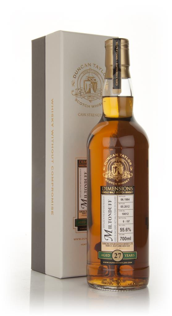 Miltonduff 27 Year Old 1984 - Dimensions (Duncan Taylor) Single Malt Whisky