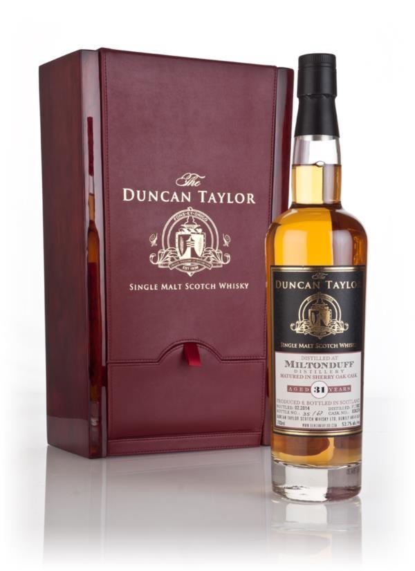 Miltonduff 31 Year Old 1982 (cask 836379) - The Duncan Taylor Single 3 Single Malt Whisky 3cl Sample