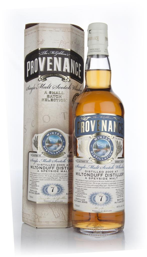 Miltonduff 7 Year Old 2005 Cask 9239 - Provenance (Douglas Laing) Single Malt Whisky