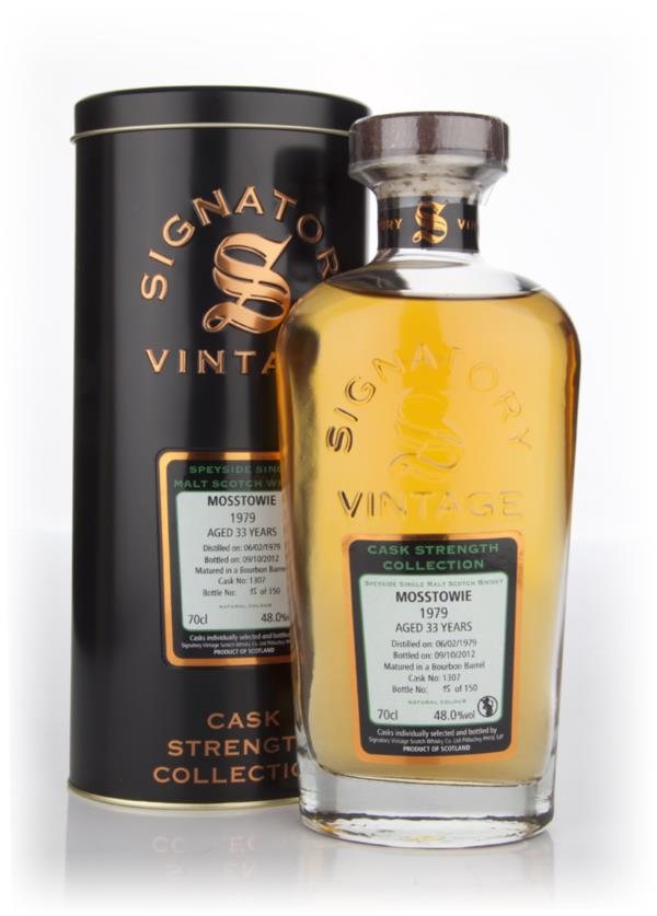 Mosstowie 33 Year Old 1979 Cask 1307 - Cask Strength Collection (Signa Single Malt Whisky