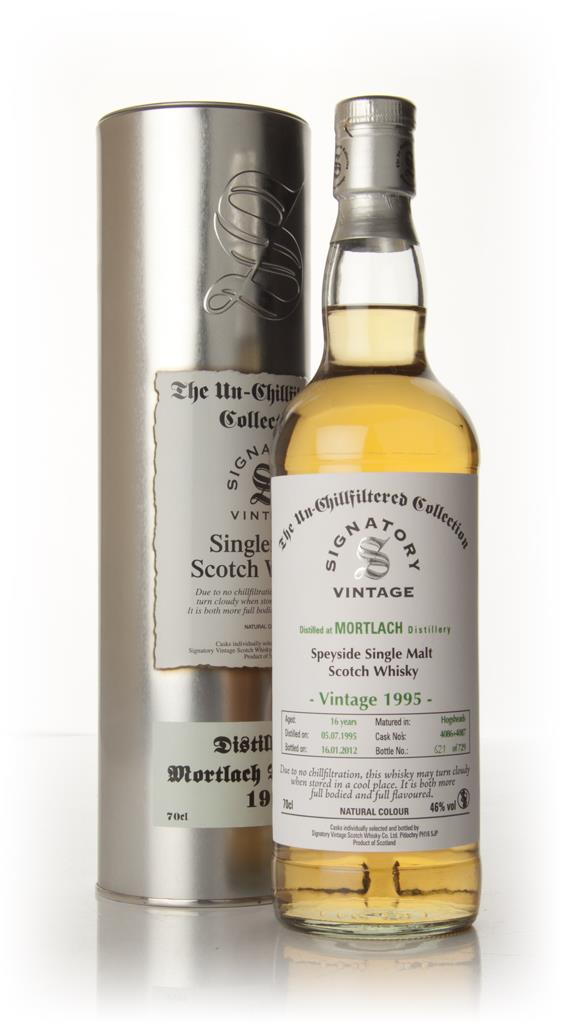 Mortlach 16 Year Old 1995 - Un-Chillfiltered (Signatory) Single Malt Whisky