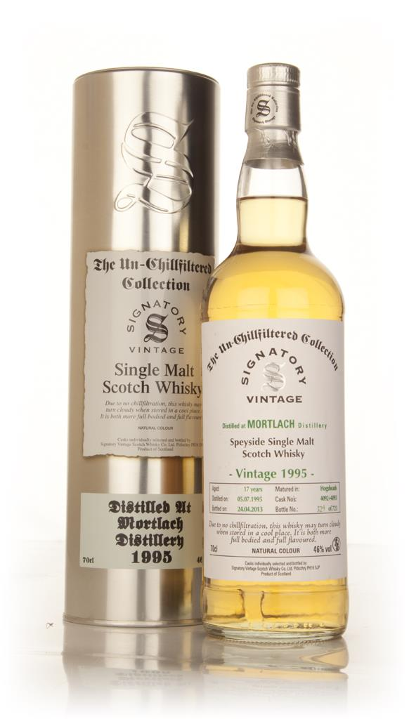 Mortlach 17 Year Old 1995 (casks 4092+4093) - Un-Chillfiltered (Signat Single Malt Whisky