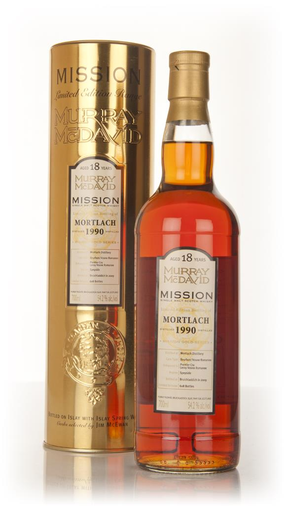 Mortlach 18 Year Old 1990 - Mission (Murray McDavid) Single Malt Whisky