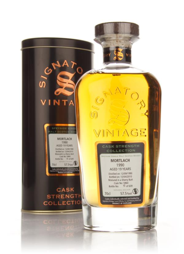 Mortlach 19 Year Old 1990 - Cask Strength Collection (Signatory) Single Malt