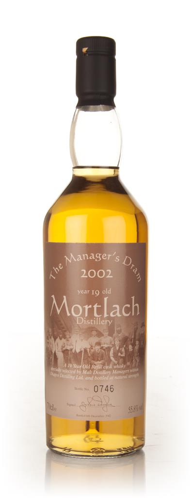 Mortlach 19 Year Old - Managers Dram Single Malt Whisky
