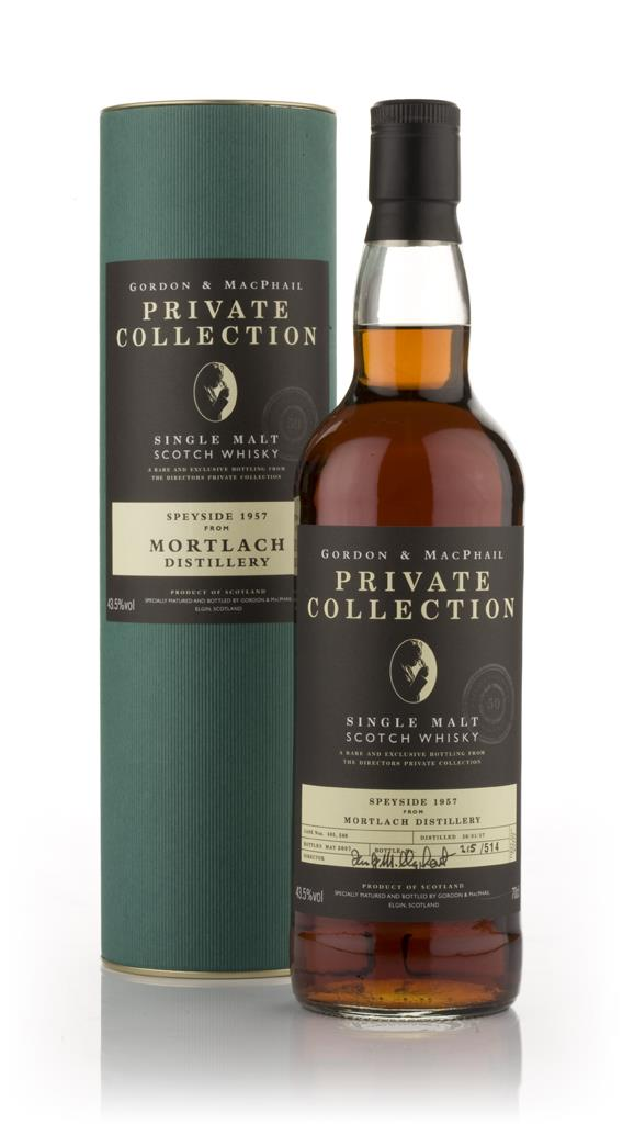 Mortlach 1957 - Private Collection (Gordon and MacPhail) Single Malt Whisky