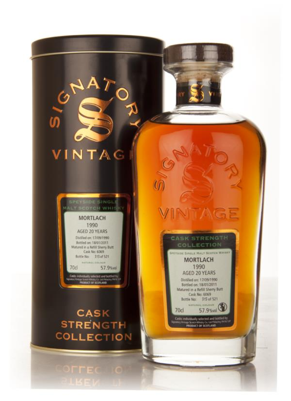 Mortlach 20 Year Old 1990 Cask 6069 - Cask Strength Collection (Signat Single Malt Whisky