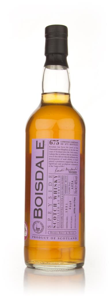 Boisdale 1991 Speyside (Berry Brothers and Rudd) Single Malt Whisky
