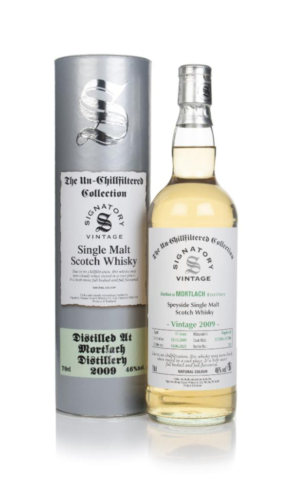 Mortlach 11 Year Old 2009 (casks 317285 & 317286) - Un-Chillfiltered C Single Malt Whisky