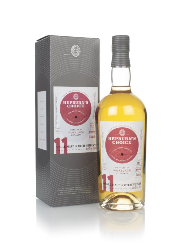 Mortlach 11 Year Old 2009 - Hepburn's Choice (Langside) Single Malt Whisky