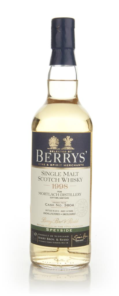Mortlach 14 Year Old 1998 - Berry Bros & Rudd Single Malt Whisky