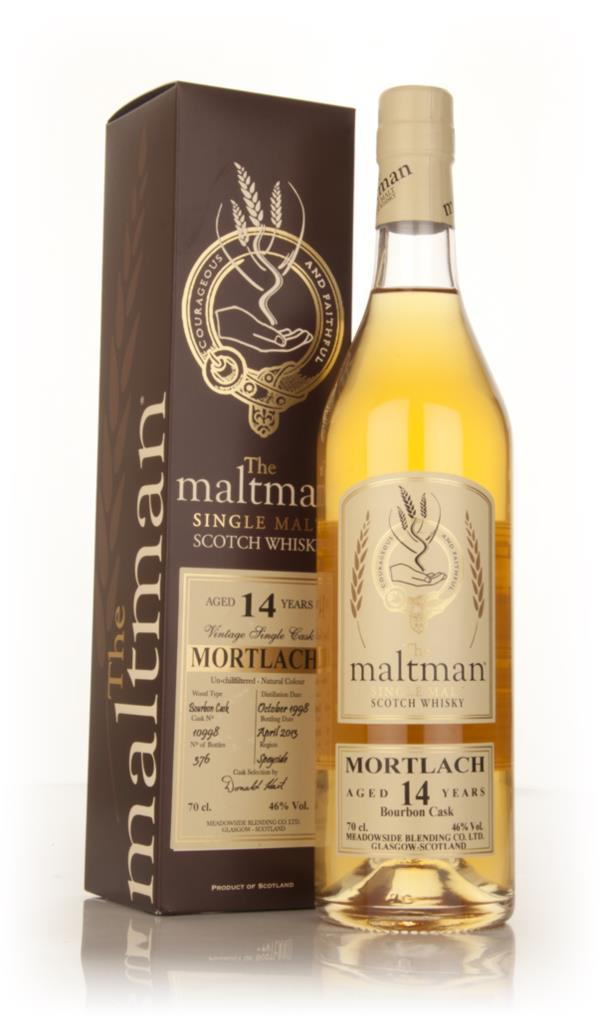 Mortlach 14 Year Old 1998 (cask 10998) (The Malltman) Single Malt Whisky