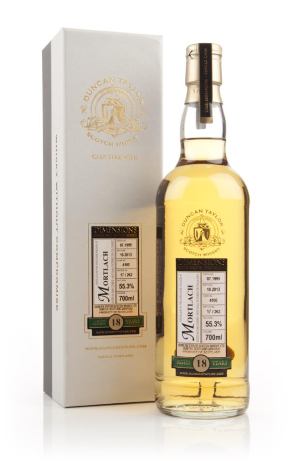 Mortlach 18 Year Old 1995 (Cask 4100) - Dimensions (Duncan Taylor) Single Malt Whisky
