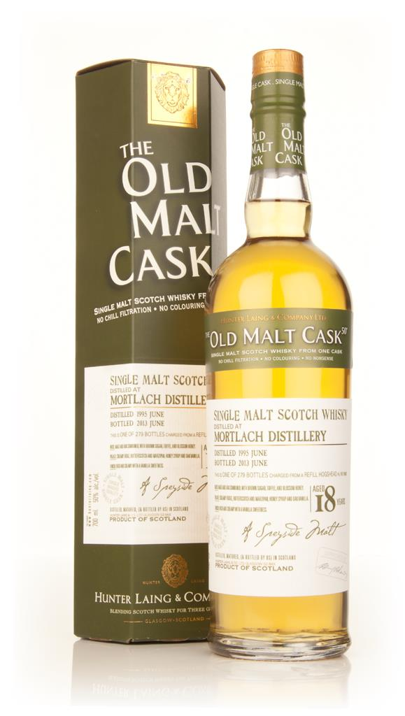 Mortlach 18 Year Old 1995 (cask 9882) - Old Malt Cask (Hunter Laing) Single Malt Whisky