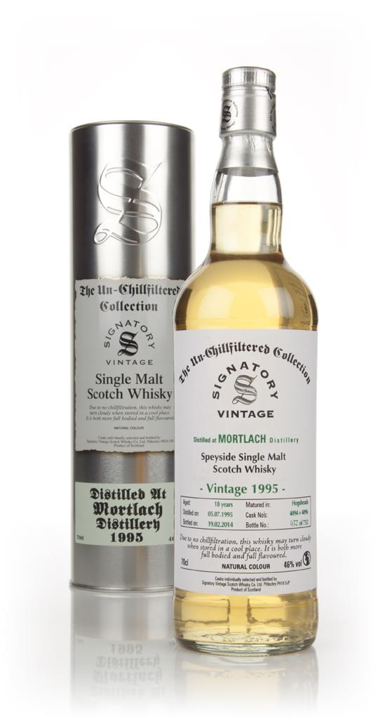 Mortlach 18 Year Old 1995 (casks 4094+4096) - Un-Chillfiltered (Signat Single Malt Whisky