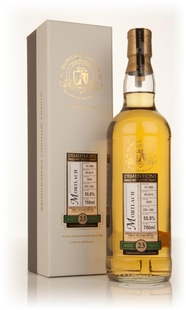 Mortlach 23 Year Old 1989 (cask 5055) - Dimensions (Duncan Taylor) Single Malt Whisky
