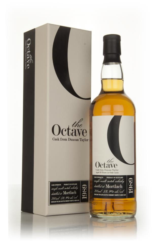 Mortlach 23 Year Old 1989 (cask 792947) - The Octave (Duncan Taylor) Single Malt Whisky