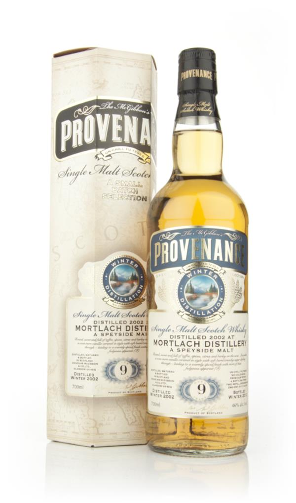 Mortlach 9 Year Old 2002 - Provenance (Douglas Laing) Single Malt Whisky
