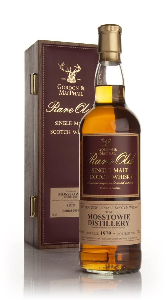 Mosstowie 1979 - Rare Old (Gordon and MacPhail) Single Malt Whisky