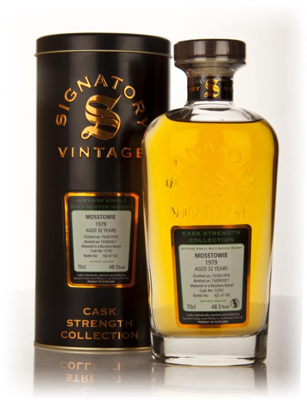 Mosstowie 32 Year Old 1979 - Cask Strength Collection (Signatory) Single Malt Whisky