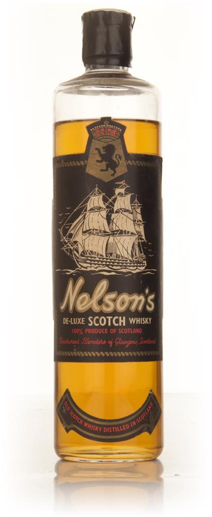 Nelsons De-Luxe Scotch Whisky - 1960s Blended Whisky